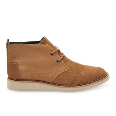 Hnědé pánské kotníkové boty TOMS Chukka