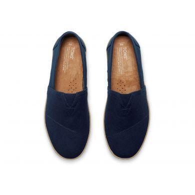 Modré pánské TOMS Avalon Slip-On