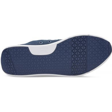 Modré pánské tenisky TOMS Burlap Del Rey