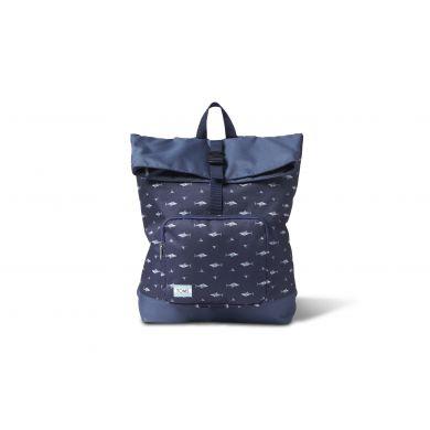 Modrý  batoh TOMS se žraloky