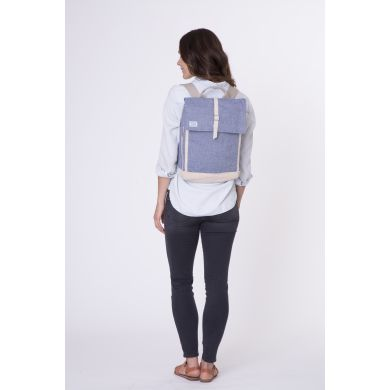 CHAMBRAY COLOR FLECK BACKPACK