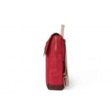 Červený plátěný batoh TOMS