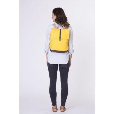Žlutý plátěný batoh TOMS