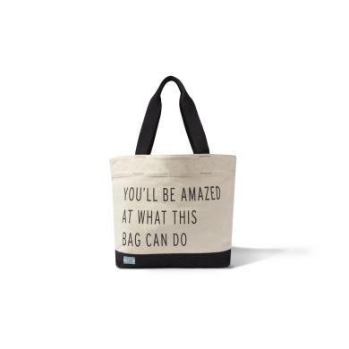 Béžová tote taška TOMS You'll be amazed