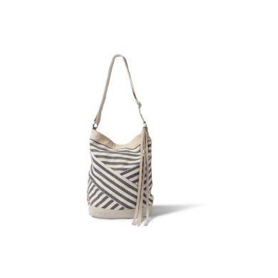 Modrobílá taška TOMS Riviera