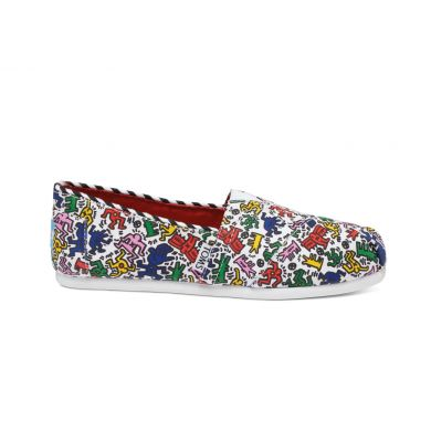 Barevné dámské TOMS Keith Haring Alpargata