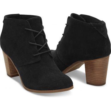 Čierne dámske členkové topánky TOMS Lunatech