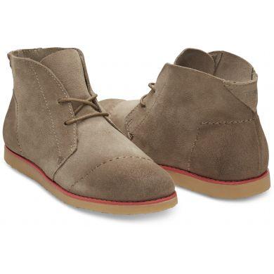 Hnedé dámske členkové topánky TOMS Mateo Chukka