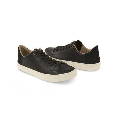 Čierne pánske kožené tenisky TOMS Lenox