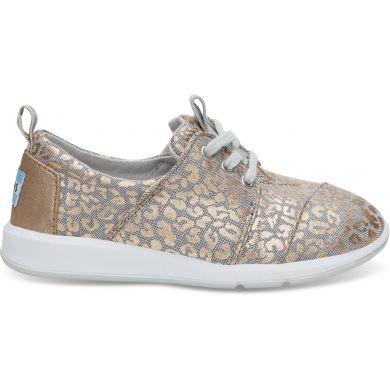 Detské zlato-sivé tenisky TOMS Cheetah Youth Del Rey
