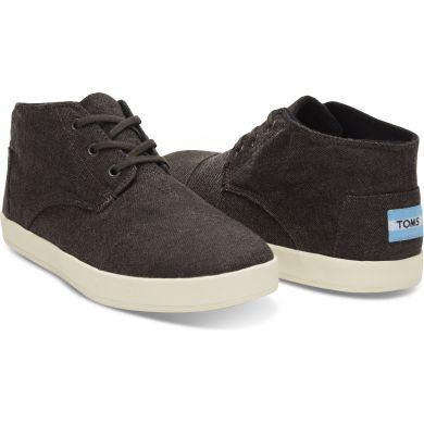 Pánske hnedé členkové topánky TOMS Paseo