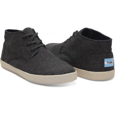 Pánske šedé členkové topánky TOMS Paseo
