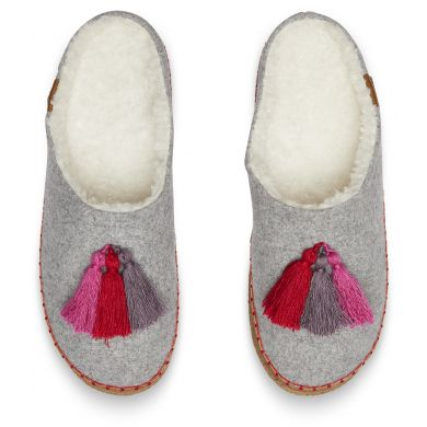 Dámske sivé papuče TOMS Wool Ivy
