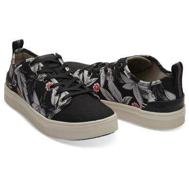 Pánske čierne tenisky s potlačou TOMS TRVL Lite Low Sneaker
