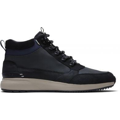 Pánske čierne nepremokavé členkové topánky TOMS Skully