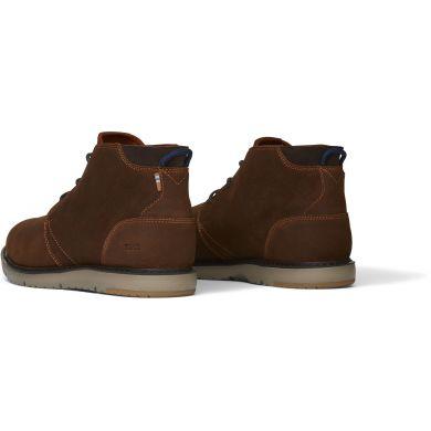 Pánske hnedé kožené členkové boty TOMS Navi