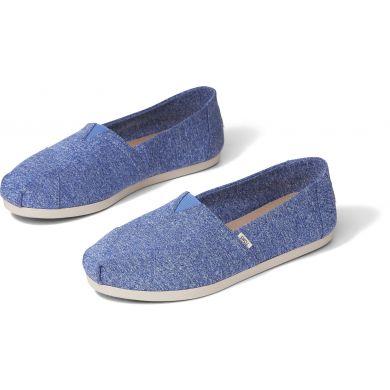 Dámske modré espadrilky TOMS Alpargata