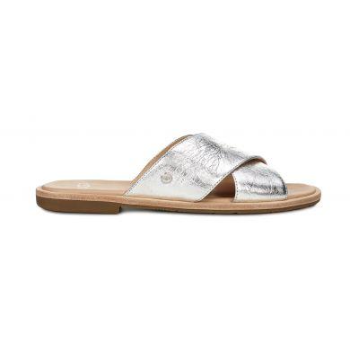 Topánky UGG Joni Metallic Silver