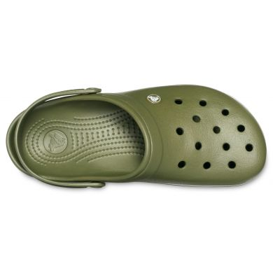 Crocband Army Green/White