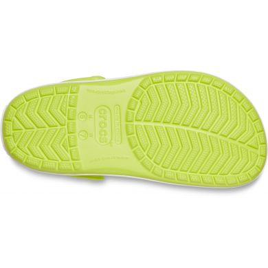 Crocband Lime Punch/White
