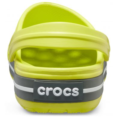 Crocband Citrus/Grey