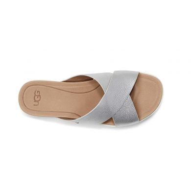 Topánky UGG Kari Metallic Silver