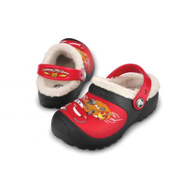 McQueen Drag Racing Lined Clog