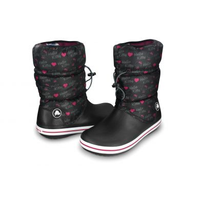 Crocband Winter Boot Hello Kitty