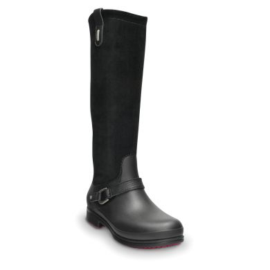 Equestrian Suede Tall Boot