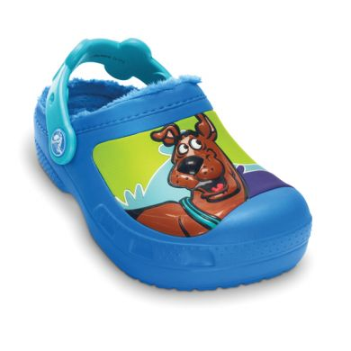 Scooby Doo Retro Wave Lined Clog