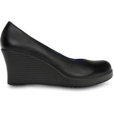 A-leigh Closed-toe Leather Wedge Women's