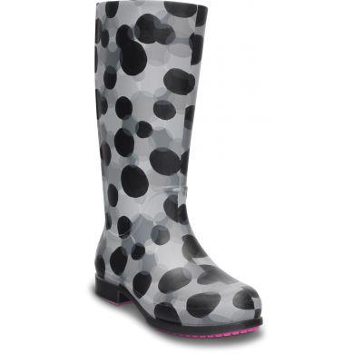 Women's Wellie Polka Dot Rain Boot