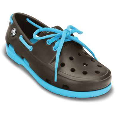Beach Line Lace Boat Shoe Junior's