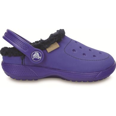 ColorLite Lined Clog Kids Cerulean Blue/navy
