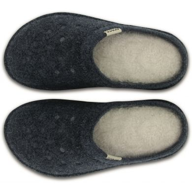 Classic Slipper Nautical Navy/Oatmeal