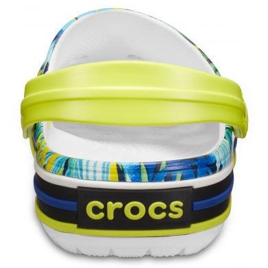 Crocband Tropical Grph V Clog