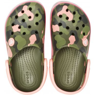 Crocband MultiGraphic Clog K