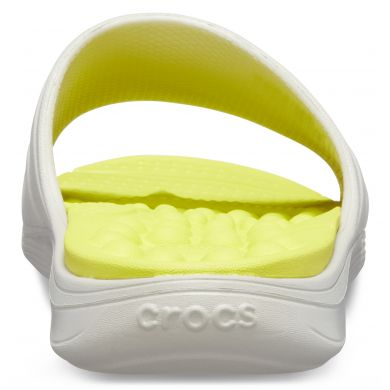Reviva Slide Pearl White/Citrus