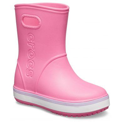 Crocband Rain Boot K Pink Lemonade/Lavender