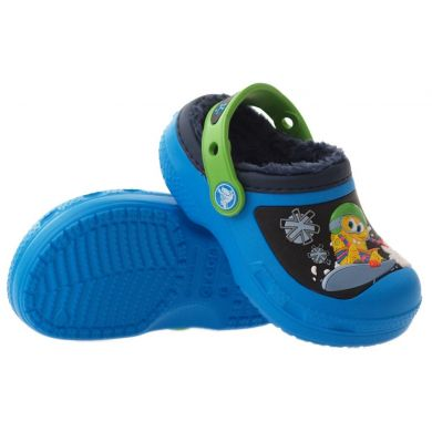 Creative Crocs SpongeBob Goes Snowboarding Lined Clog Kids