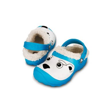 Polar Bear Lined Clog