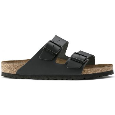 Čierne papuče Birkenstock Arizona Leather
