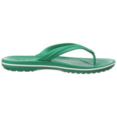 Crocband Flip  Deep Green/White