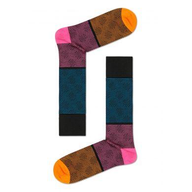 Farebné ponožky Happy Socks, vzor Big Dot Block // KOLEKCIA DRESSED