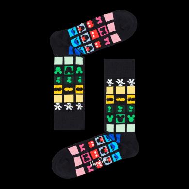 Farebné ponožky Happy Socks x Disney, vzor Keep It Together