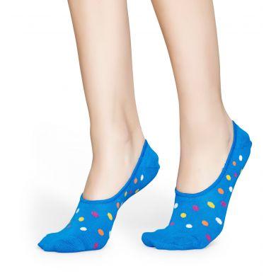 Nízke vykrojené ponožky Happy Socks, vzor Big Dot - tri páry