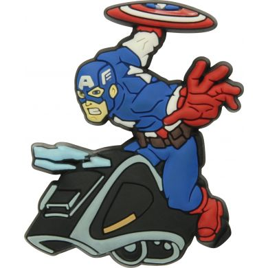Odznáček Jibbitz - Captain America