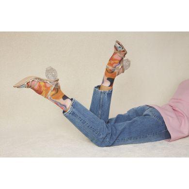 Dámske farebné ponožky Happy Socks Mia // kolekcia Hysteria
