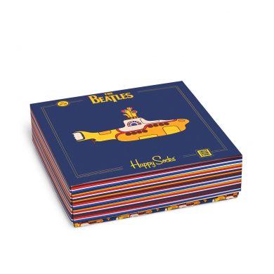 Darčekový box ponožiek Happy Socks EP x The Beatles - 3 páry