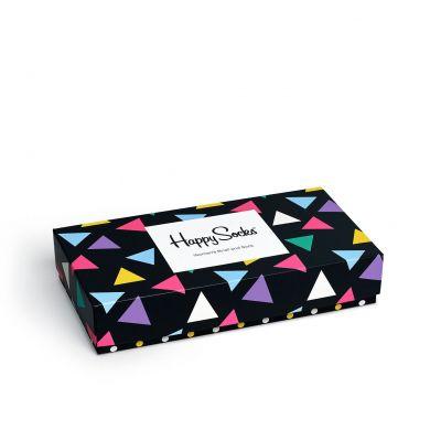 Darčekový box ponožiek a nohavičiek Happy Socks Triangle - 2 páry